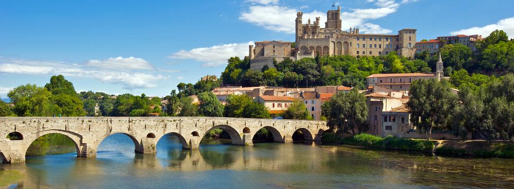 Bridge at Bezier, Languedoc-Roussillon