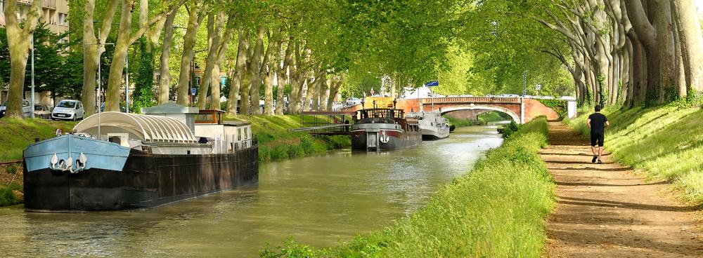 Canal du Midi, Languedoc-Roussillon