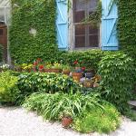 Corner of Lower Courtyard